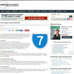 Writing Tips: The 7 Deadly Sins of Writing