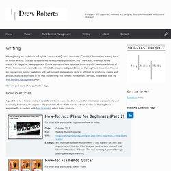Drew Roberts Online