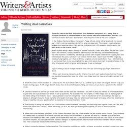 Writing dual narratives