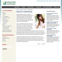 About 6+1 Trait® Writing | Education Northwest