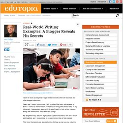 Real-World Writing Examples: A Blogger Reveals His Secrets