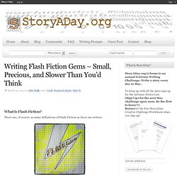 Writing Flash Fiction Gems – Small, Precious, and Slower Than You'd Think