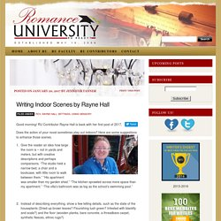 Writing Indoor Scenes by Rayne Hall
