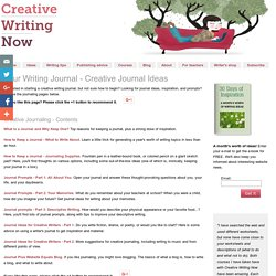 Your Writing Journal - Journal Ideas and Tips on How to Write a Journal