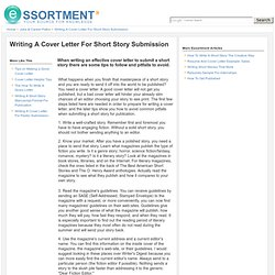 How to write a letter short story