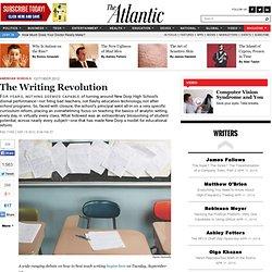 The Writing Revolution - Peg Tyre