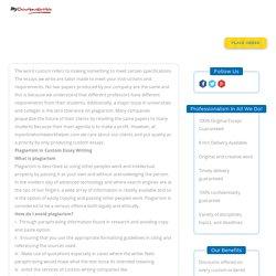 Custom Essay Writing Services
