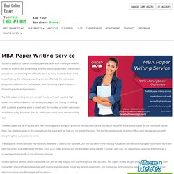 Hire Expert MBA Essay Writing Service To Boost Grades