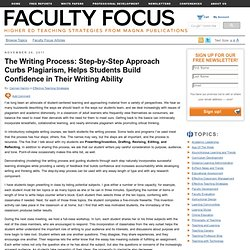 The Writing Process Helps Students Become More Confident Writers