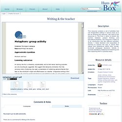 Writing & the Teacher - HumBox