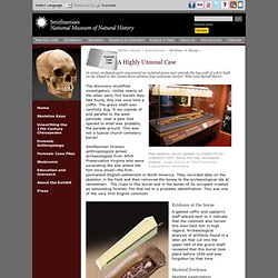 Written in Bone - A Highly Unusual Case