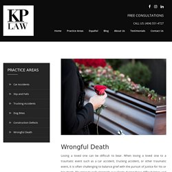 Hire a Wrongful Death Attorney in Georgia