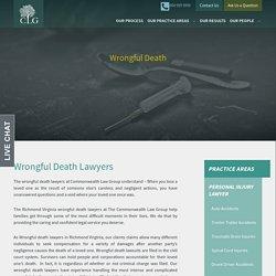 Wrongful Death Lawyers Richmond Va