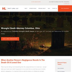 Wrongful death attorney Columbus OH, Wrongful death lawyer Westerville