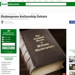Who Wrote William Shakespeare's Plays?