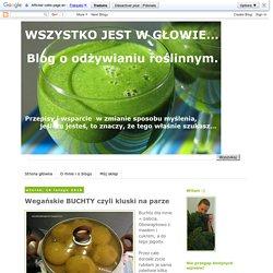 Wegański blog Wszystko jest w głowie...: Wegańskie BUCHTY czyli kluski na parze