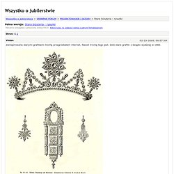 Wszystko o jubilerstwie - Stara biżuteria - rysunki