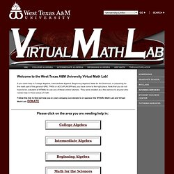 Virtual Math Lab