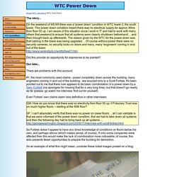 WTC Power Down