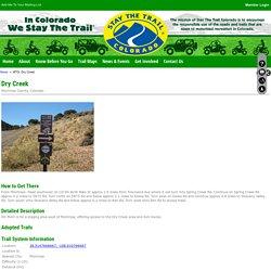 WTG: Dry Creek - Stay The Trail