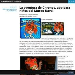 La aventura de Chronos, app para niños del Museo Naval