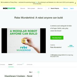 Robo Wunderkind: A robot anyone can build by Robo Wunderkind