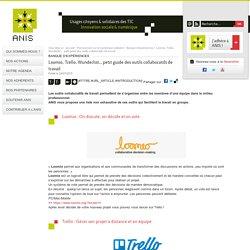 Loomio, Trello, Wunderlist... petit guide des outils collaboratifs de travail