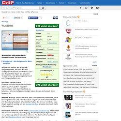 Wunderlist - Web-App
