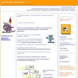 Deutsch als Zweitsprache Material