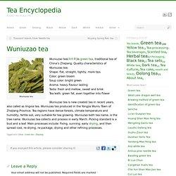 Wuniuzao tea