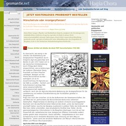 Wünschelrute oder Anzeigerpflanzen? auf geomantie.net