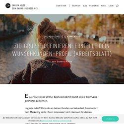 Zielgruppe definieren: Wunschkunden-Profil Arbeitsblatt