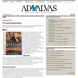 advalvas: VU wurgt topopleidingen