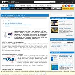 WUSB : présentation de l'USB sans fil