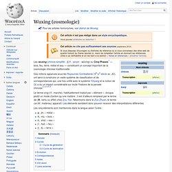 Wuxing (cosmologie)