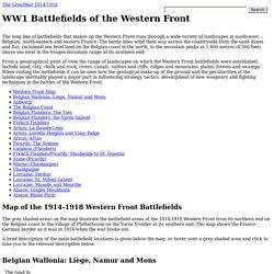 WW1 Battlefields of the Western Front