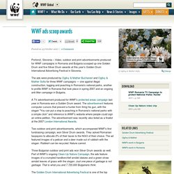 WWF ads scoop awards