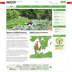 WWOOF au Danemark