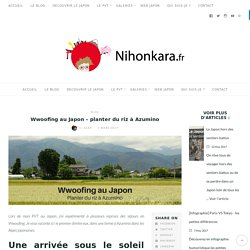 Wwoofing au Japon - planter du riz à Azumino - Nihonkara