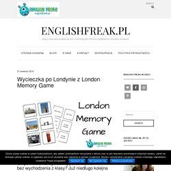 Wycieczka po Londynie z London Memory Game - englishfreak.pl