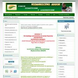 Wydawnictwo ARSON-pomoce dydaktyczne i logopedyczne