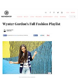 Wynter Gordon - Fall Playlist