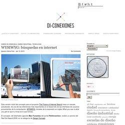 WYSIWYG: búsquedas en internet