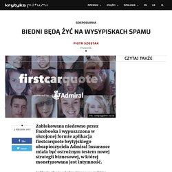 Biedni będą żyć na wysypiskach spamu – KrytykaPolityczna.pl