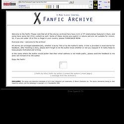 X-Men Slash Central - Archive