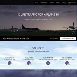 X-Plane 10 traffic plugin