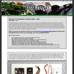 X3 INSTALL TUTORIAL : PIN HEADER : v1.6