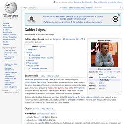 Xabier López - Wikipedia, a enciclopedia libre