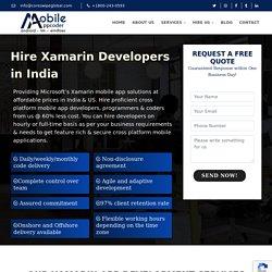Xamarin App Development Company India