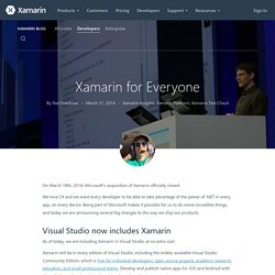 Xamarin for Everyone